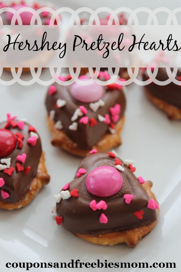 Hershey Pretzel Hearts