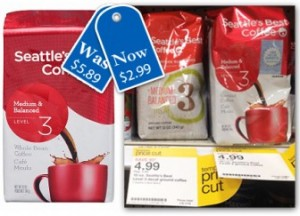 Seattles Best 300x216 Seattle's Best Coffee, Only $2.99 at Target!