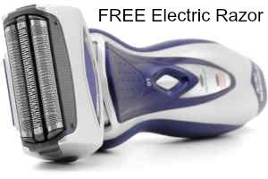 free electric razor