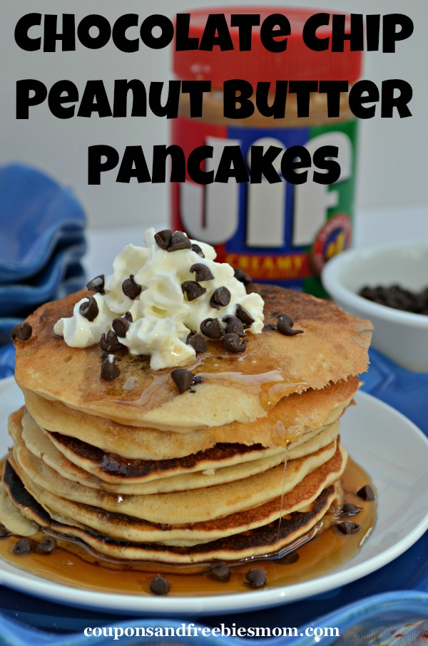 chocolate chip pancakes chocolate chip peanut butter pancakes coupons and 11635