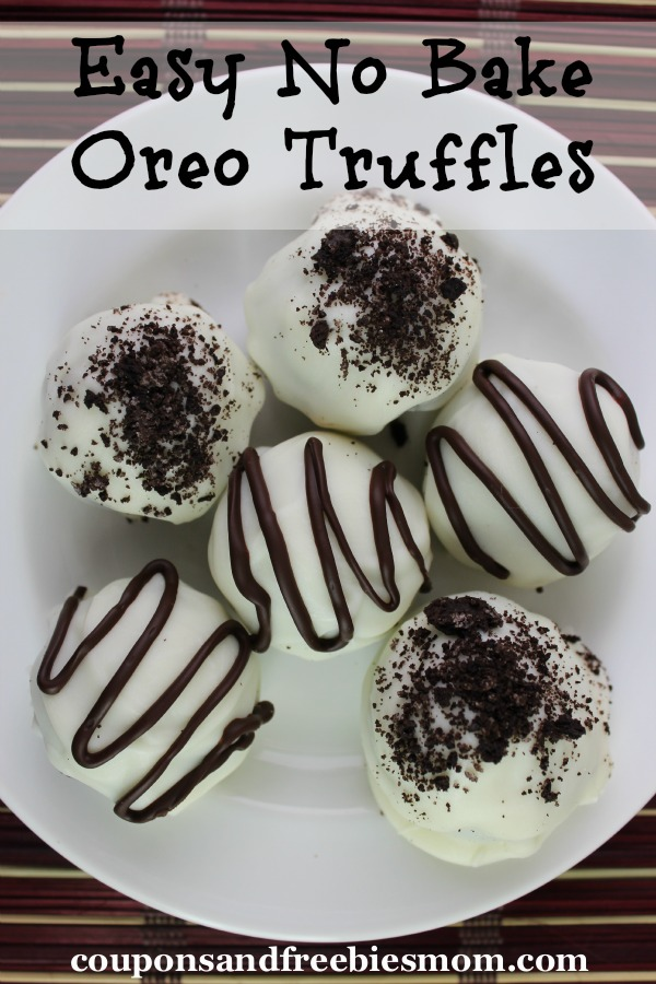 Easy No Bake Oreo Truffles - Coupons and Freebies Mom
