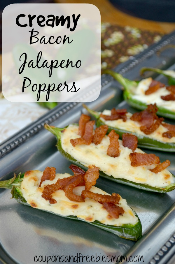 Creamy Bacon Jalapeno Poppers