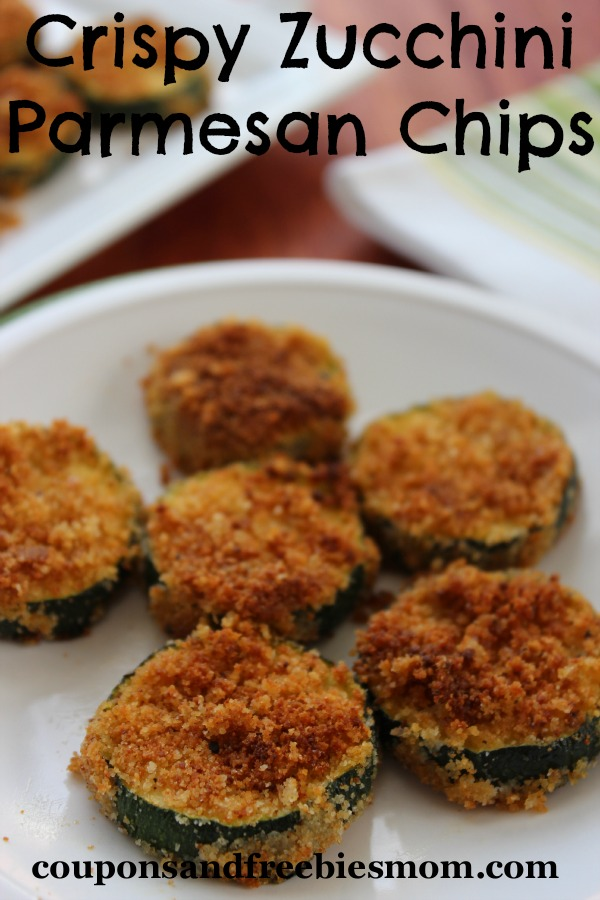 Crispy Zucchini Parmesan Chips - Coupons and Freebies Mom