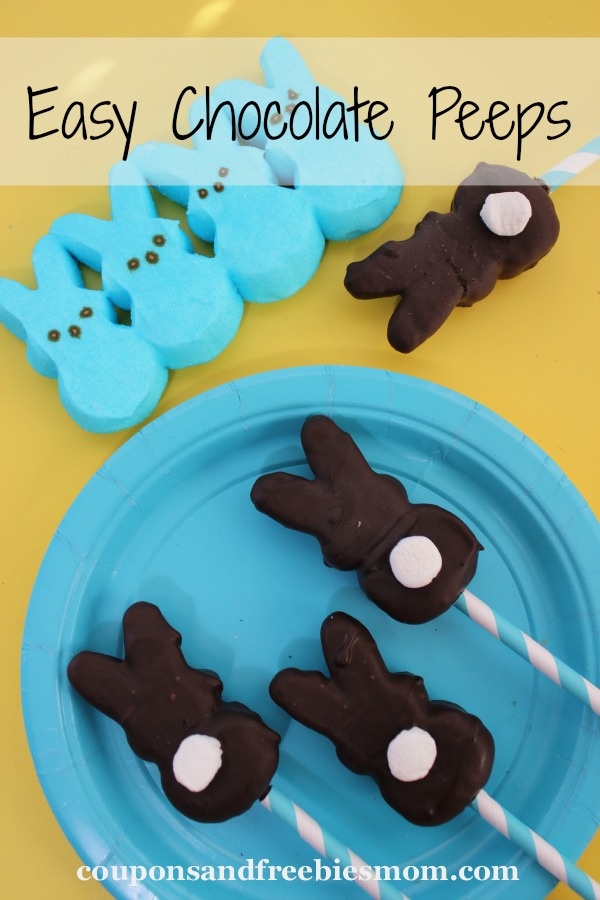 Easy Chocolate Peeps