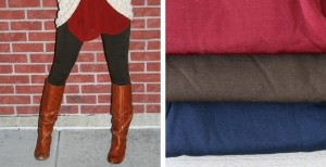 Fleece Leggings 300x154 Solid Fleece Leggings Blowout Sale Only $4.99!