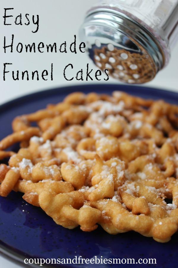 Easy Homemade Funnel Cakes
