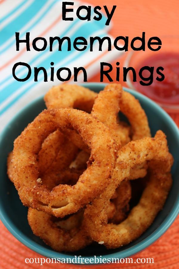 Easy Homemade Onion Rings