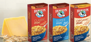 Horizon 300x140 $1.00/3 Horizon Organic Mac & Cheese Coupon!
