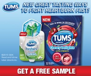 Tums Free Sample of Tums!