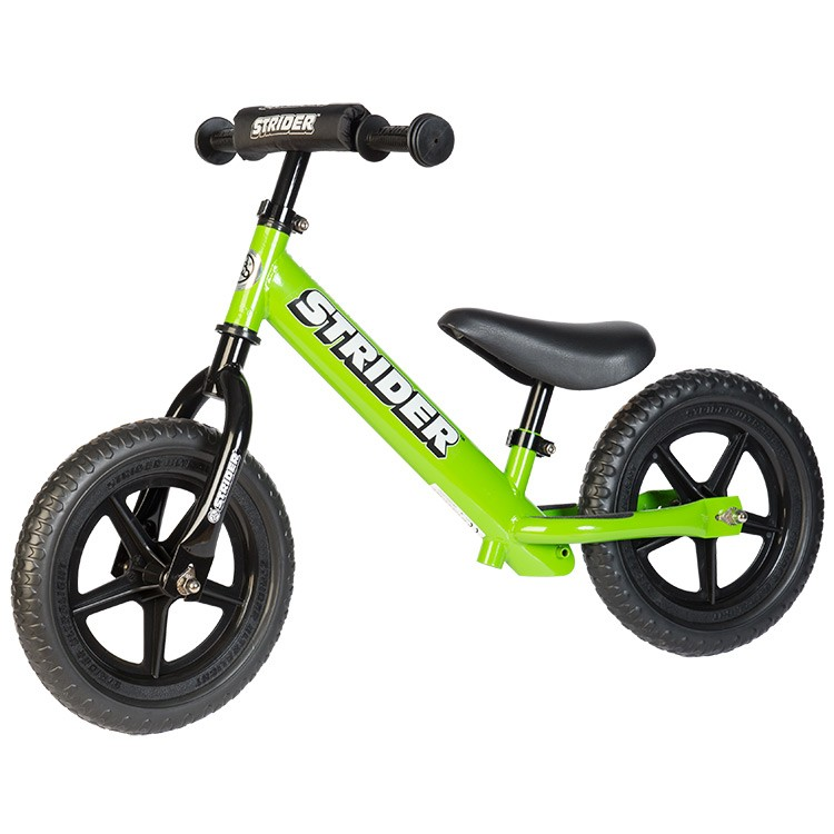 strider bike green Win a Free Kids Strider Bike ($119 value)!