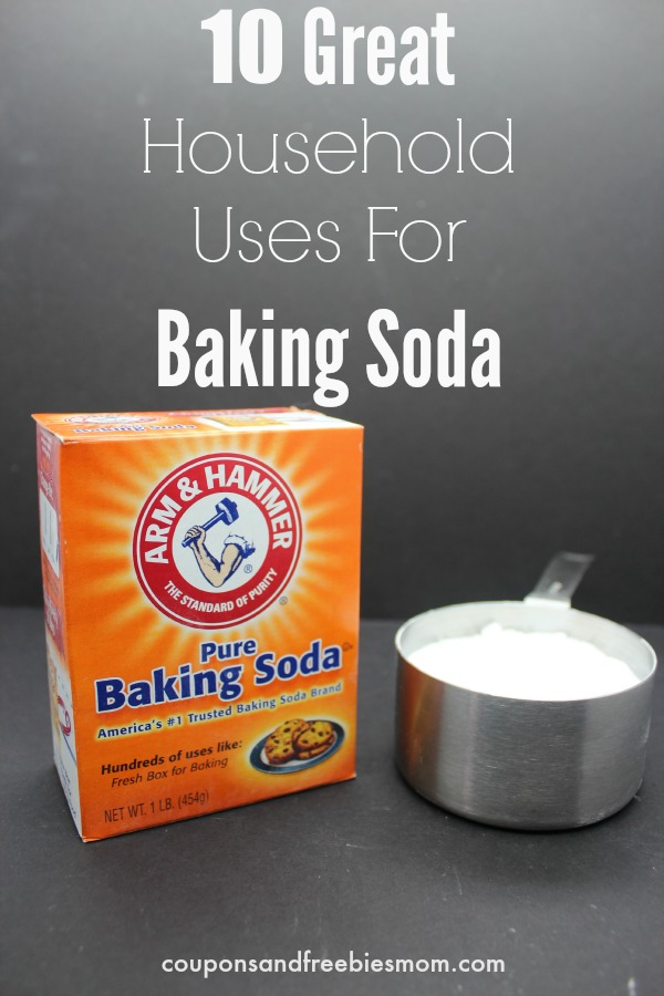 10 Great Household Uses For Baking Soda