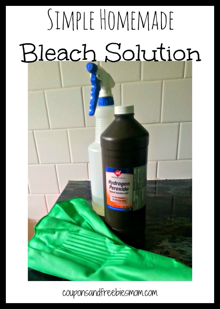 Simple Homemade Bleach Solution