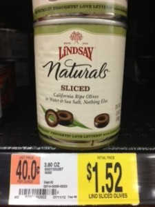 Lindsay 225x300 Lindsay Olives As Low As $0.50 Each At Walmart!