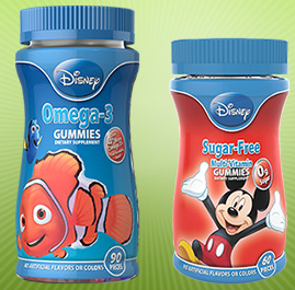 NatureSmart Disney Gummy Vitamins FREE NatureSmart Disney Gummy Vitamins Sample!