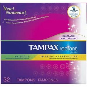 Tampax pearl coupons target