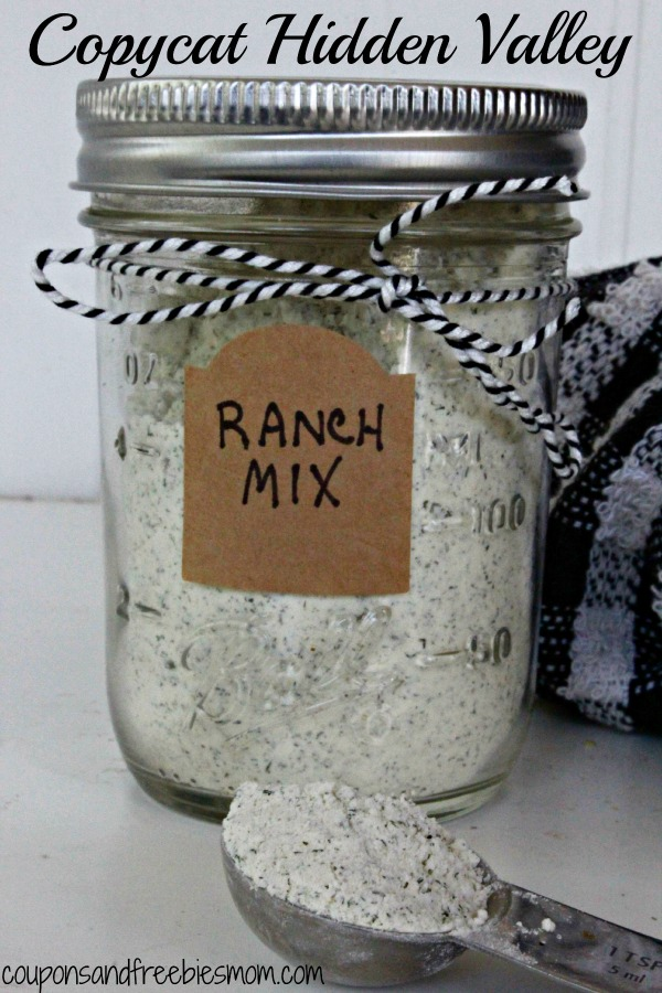 Copycat Hidden Valley Ranch Mix