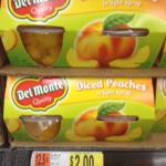 Del Monte Peaches walmart 150x150 Del Monte Fruit Cup Deal at Walmart!