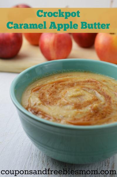 Crockpot Caramel Apple Butter