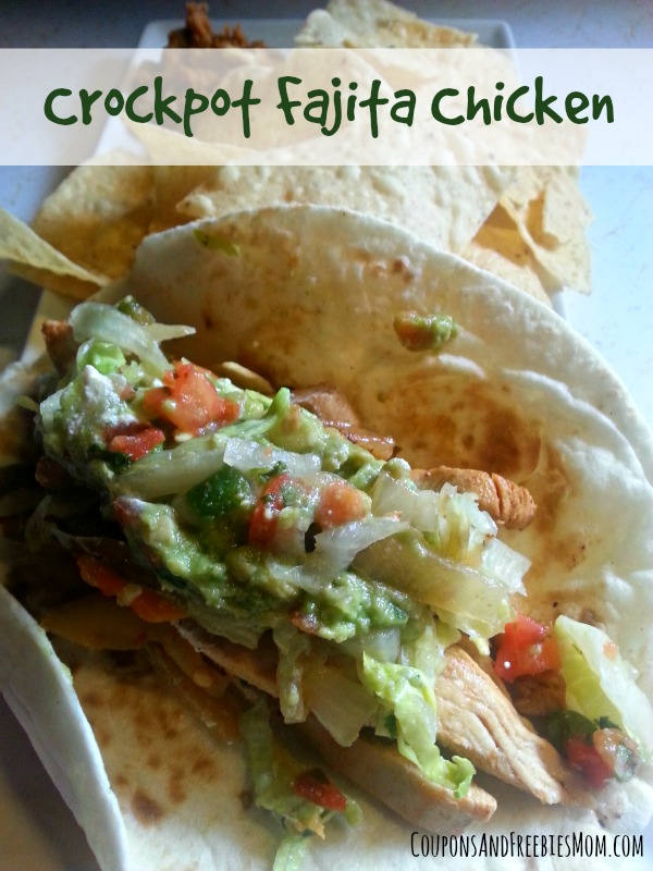 Crockpot Fajita Chicken