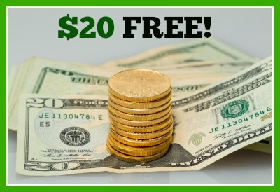 20 free kmart sears