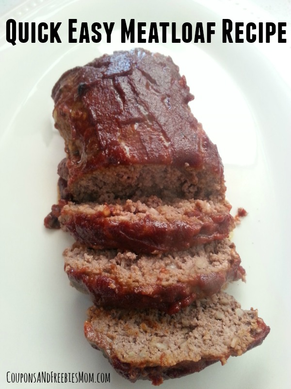 Quick Easy Meatloaf Recipe