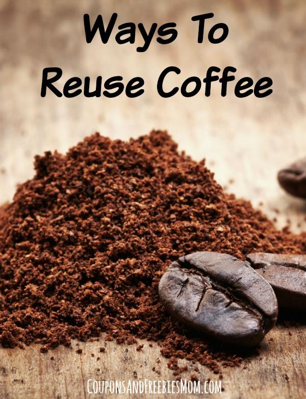 Ways To Reuse Coffee