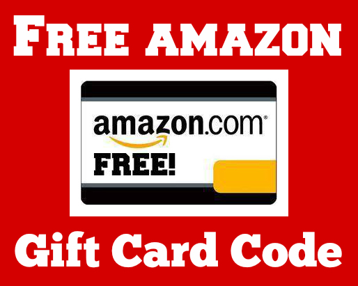 amazon blank free gift card code red border