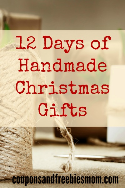 Handmade Christmas Gifts: 12 Simple Homemade Holiday Presents!