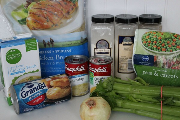 crockpot chicken and dumplings ingredients