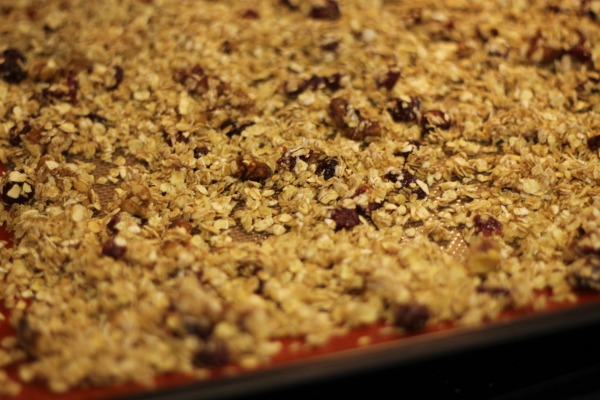 homemade granola bake