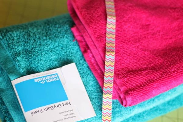 hooded towel supplies