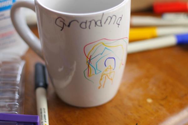 sharpie mug diy draw