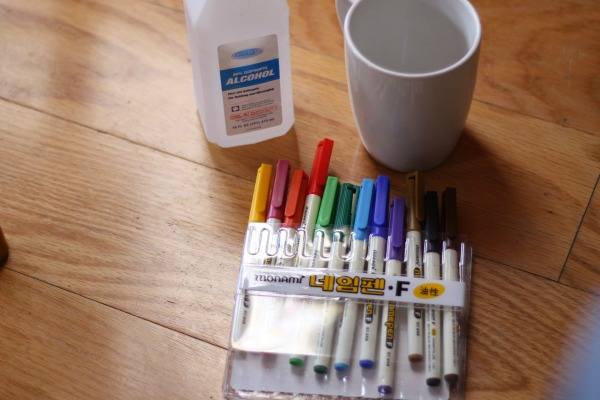 sharpie mug supplies
