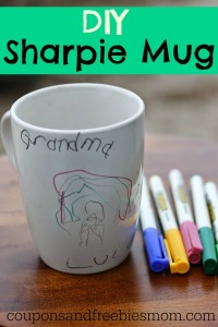 Easy DIY Sharpie Mug Homemade Gift