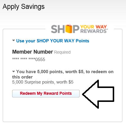 apply points shopyourway