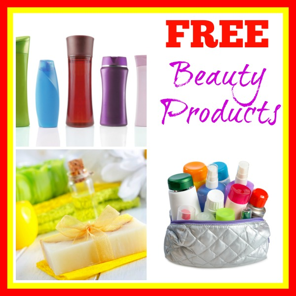 free beauty products collage 600