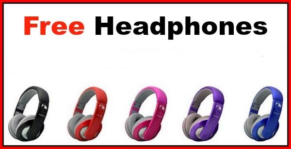 Free headphones freebies