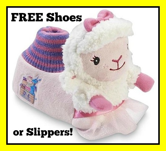 lamb slippers yellow border
