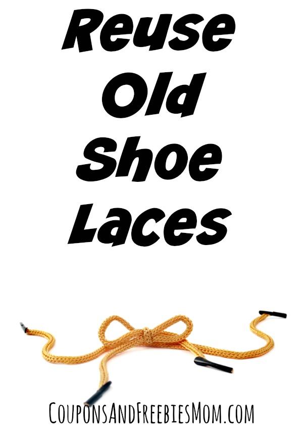 Reuse Old Shoe Laces