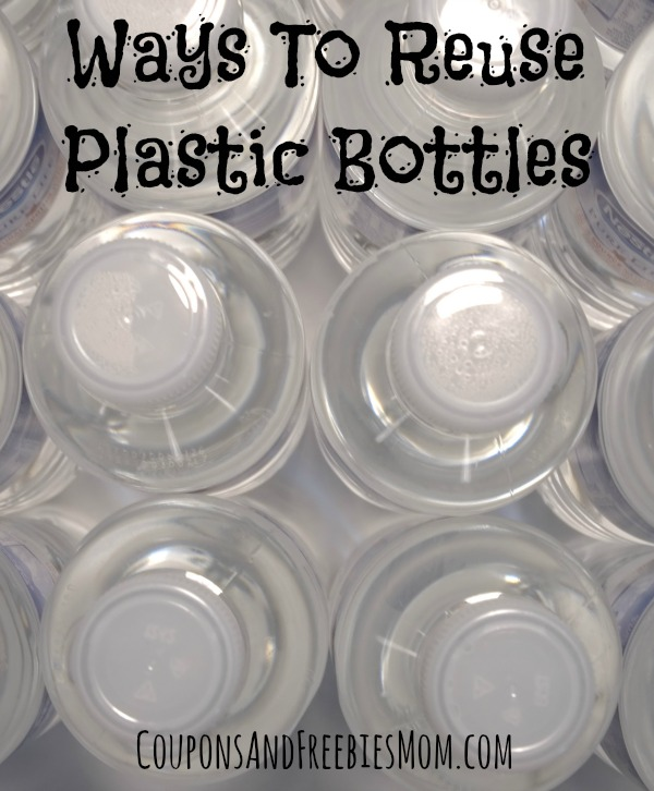 Ways To Reuse Plastic Bottles