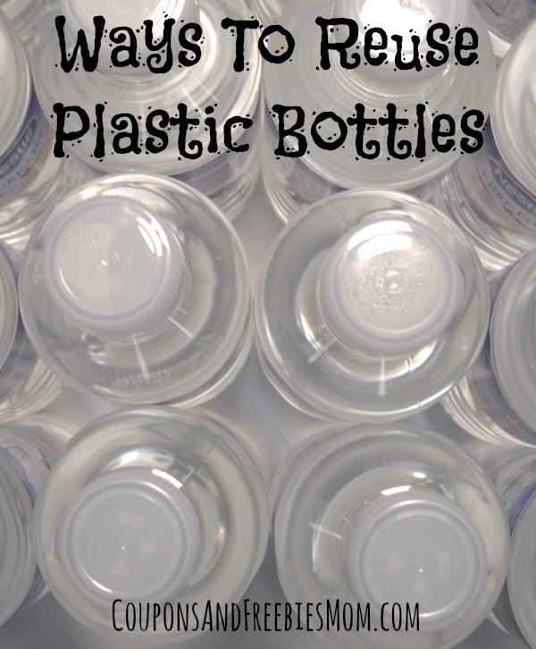 Ways To Reuse Plastic Bottles
