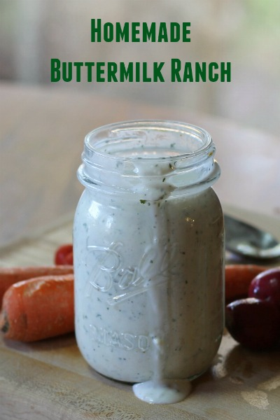 Easy Homemade Buttermilk Ranch Dressing: Perfect Dip!