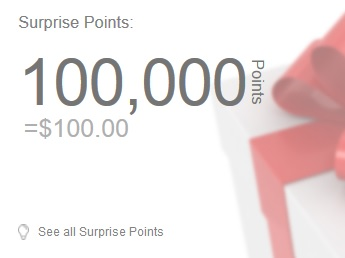100 surprise points shopyourway kmart sears