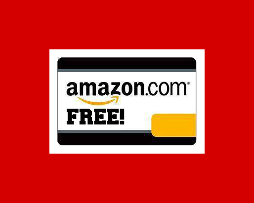 amazon blank free gift card red border