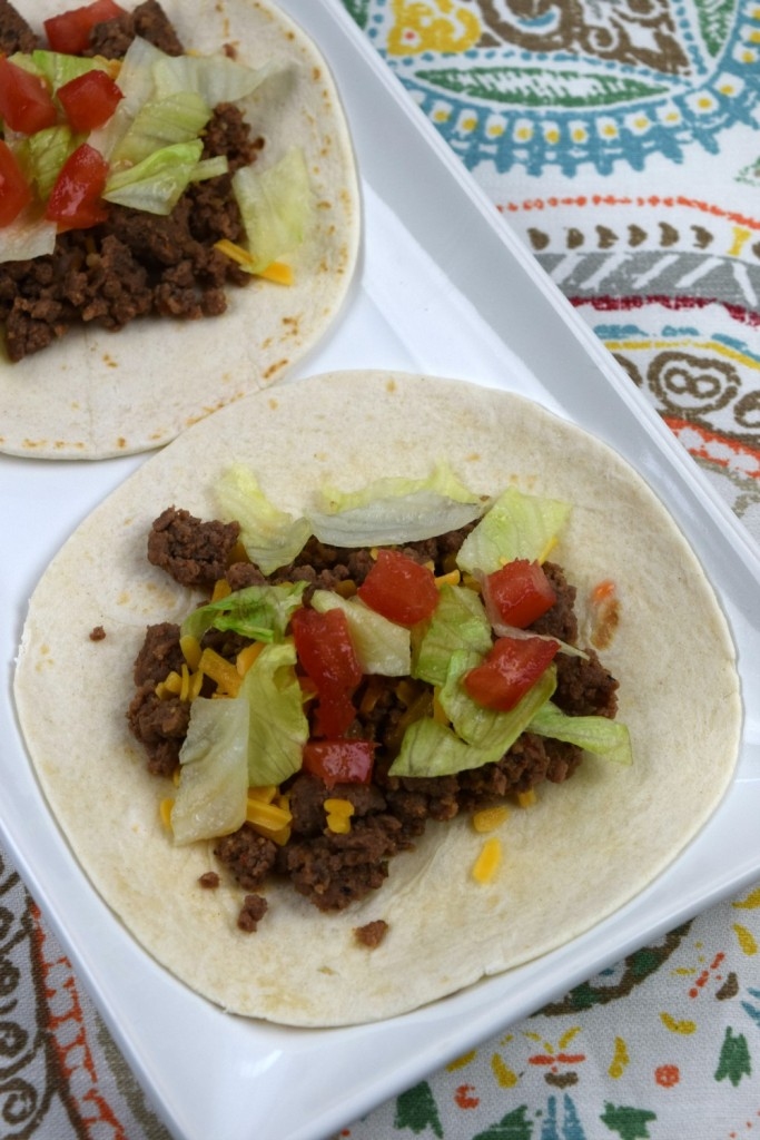 Quick and Easy Tacos vertical