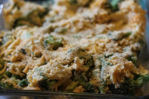 broccoli bake top