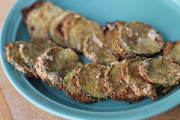 zesty ranch zucchini chips
