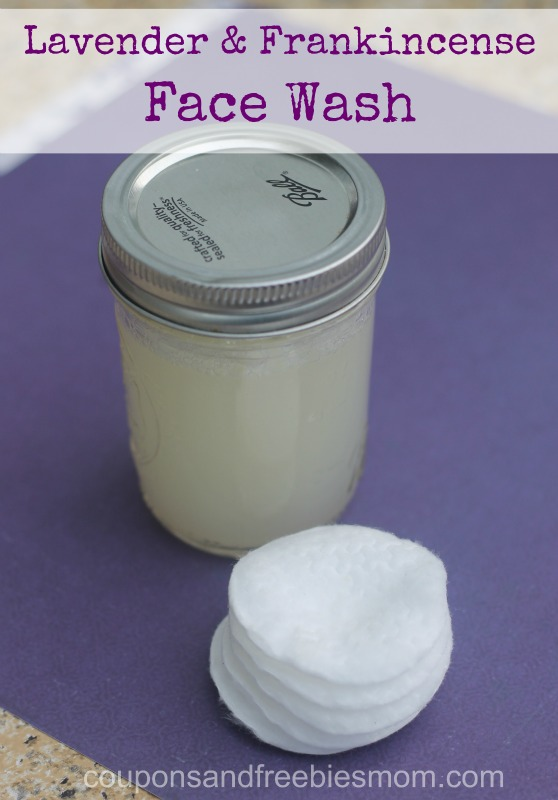 Homemade Lavender Face Wash