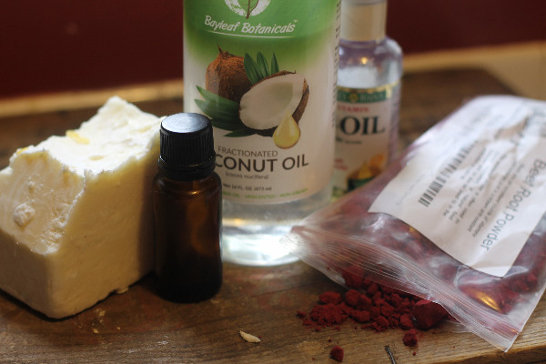 peppermint body butter ingredients