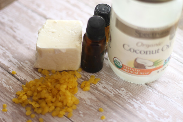 peppermint lotion bar ingredients